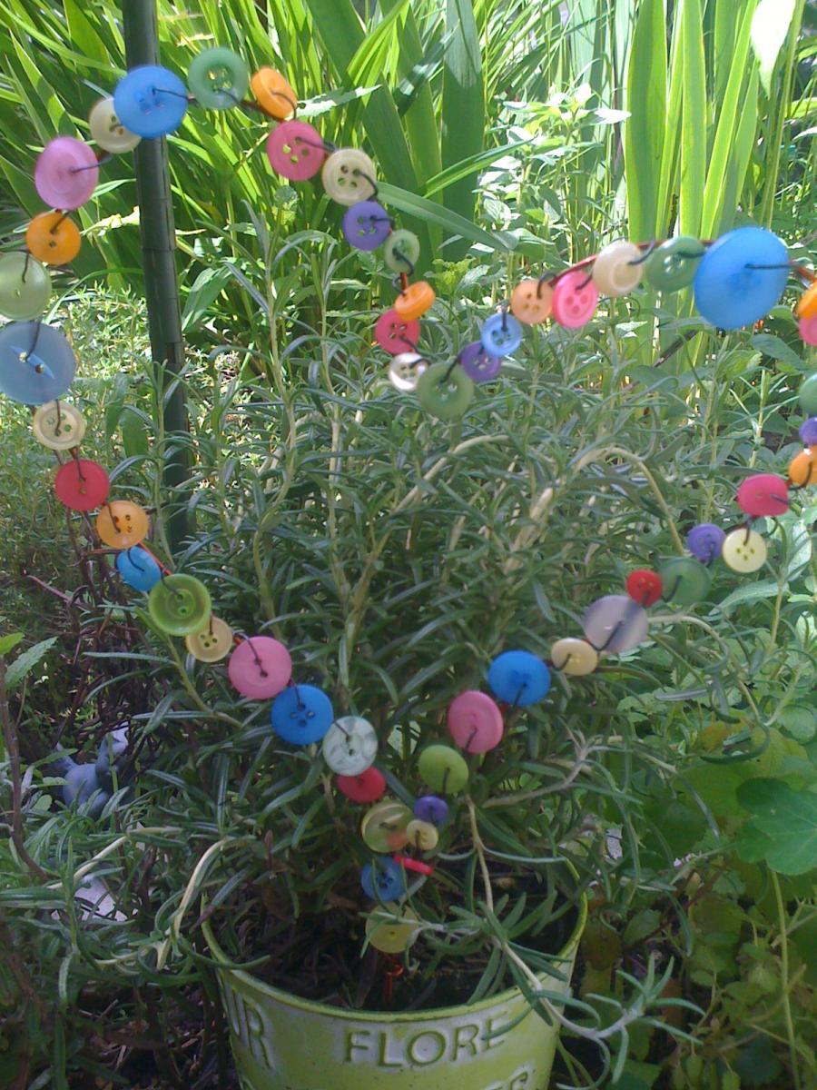 Upcycled Gardendecoration